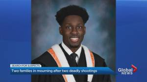'He was a fantastic son': Father of 23-year-old man fatally shot in Toronto reflects (02:35)