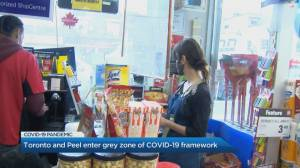 Coronavirus: Toronto, Peel Region move into grey-lockdown zone (02:36)