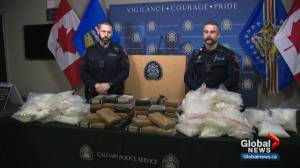 Calgary police seize cocaine, crystal meth worth an estimated $10M