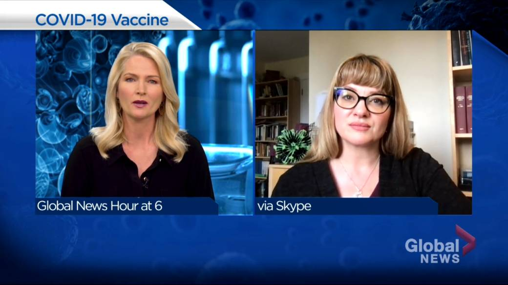 Click to play video: 'Infectious disease specialist addresses COVID-19 vaccine concerns'