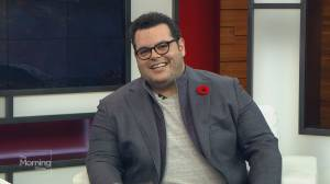 The voice of Frozen 2's Olaf the Snowman, Josh Gad
