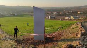 Another mysterious monolith appears near ancient site in Turkey (01:01)