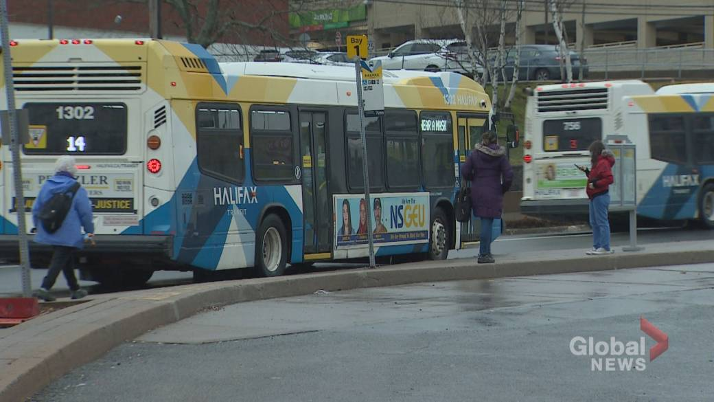 Click to play video 'Halifax Transit drivers refusing work after passengers forego masks'