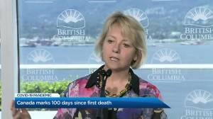 Canada marks 100 days since first COVID-19 death