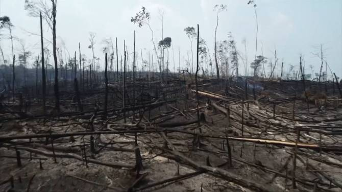 Brazil deploys troops to help fight fires in the Amazon