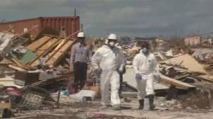 Crews scour rubble in Bahamas for victims of Hurricane Dorian