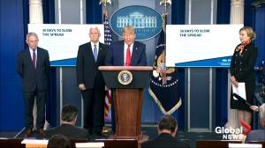 Coronavirus outbreak: Trump outlines latest on medical equipment, facilities