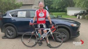 N.S. man's 1,000-kilometre ride for prostate cancer awareness (06:25)