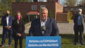 Ontario Premier Doug Ford says he won't get flu shot until 'every single person' in Ontario has theirs (03:21)