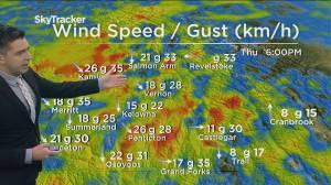 Kelowna Weather Forecast: August 18 (03:43)