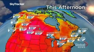 Winnipeg weather outlook: July 2 (01:50)