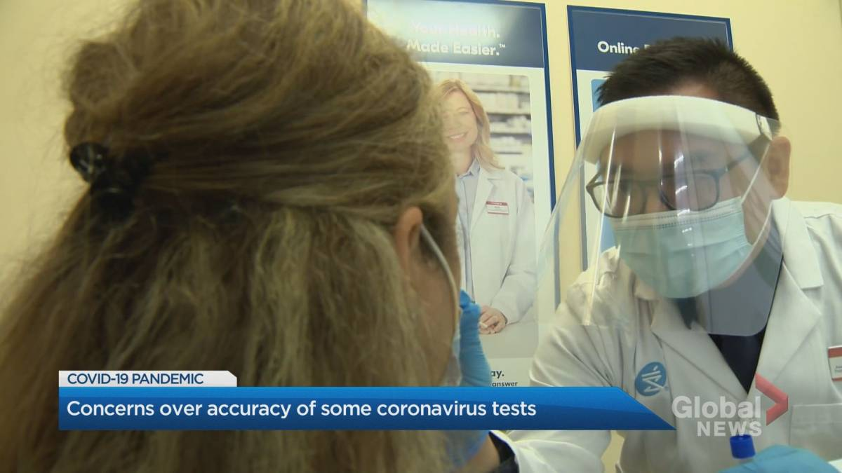 Click to play video 'Experts concerned over accuracy of some COVID-19 tests'
