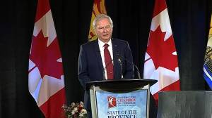 N.B. premier says province is recovering well from pandemic (02:11)