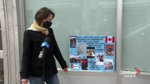 Montreal woman fights to bring husband to Canada (02:10)