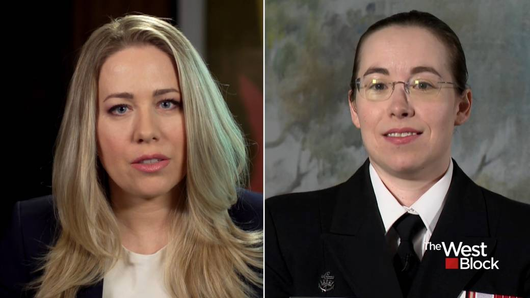 Click to play video: 'IN HER WORDS: The woman behind the Adm. McDonald allegation tells her story Pt. 2'