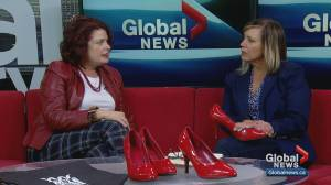 Calgarians strapping on high heels in fight against domestic violence