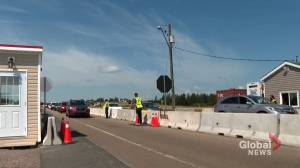 N.S. border rules go into effect, primarily for New Brunswickers not fully immunized (01:57)