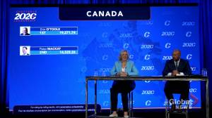 Erin O'Toole elected leader of Conservative Party of Canada (00:41)