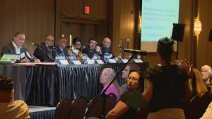 Hundreds in Lethbridge attend provincial session on supervised consumption services (01:58)