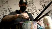 Play video: Calgary artist escapes gang life and hopes his journey helps youth at risk