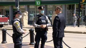 Alternative response officers start work in downtown Saskatoon to bridge gaps (01:25)