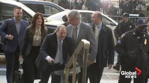 Weinstein found guilty on two charges of sexual assault in split verdict
