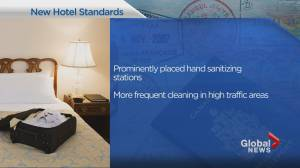 New safety protocols at hotels