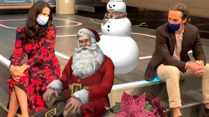 Winnipeg mom creates app for virtual Santa photos (02:21)