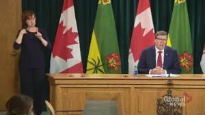 Coronavirus outbreak: Fewer tests a result of less people showing symptoms, Saskatchewan premier says