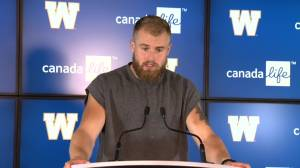 RAW: Blue Bombers Chris Streveler – Sept. 26