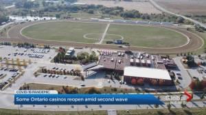 Coronavirus: Many Ontario casinos reopen to public (02:11)