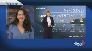Global News Morning weather forecast: Monday June 29, 2020