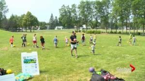 Kids in the Park summer program bringing soccer to Saskatoon community (01:46)