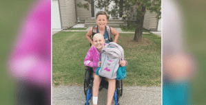 Stollery patient Ava deGannes shows the importance of the hospital's support network
