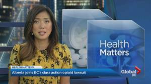 Alberta government joins B.C. lawsuit looking for opioid epidemic costs