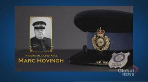 Shock, sadness about death of OPP Const. Marc Hovingh (01:54)