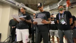 Jacob Blake protests: Milwaukee Bucks call for justice, urge Wisconsin legislature to reconvene