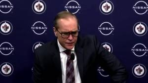 RAW: Winnipeg Jets Paul Maurice Interview – Feb. 9 (03:08)