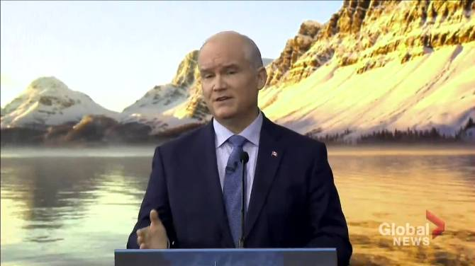 Click to play video: O'Toole unveils Conservatives' climate change plan, carbon pricing strategy