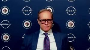 RAW: Paul Maurice on 3-1 loss to Leafs (05:20)