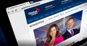Winnipeg's Global News at 6 moves online during federal leaders debate