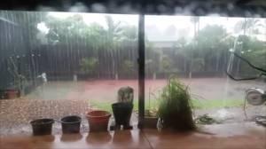 Tropical Cyclone Blake brings heavy rains to Western Australia