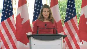 Freeland personally thanks Pompeo for 'hard work' multiple files