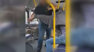 Fist fight breaks out on Surrey bus after man refuses to wear mask