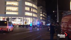 People flee amid stabbing incident in The Hague