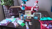 Play video: Family continues Purses Filled with Love campaign despite founder's death