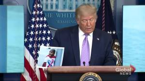 'They caught the killer,' says Trump after charges laid on alleged shooter of LeGend Taliferro