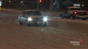 Winter storm leads to messy, slippery Monday morning commute in GTA
