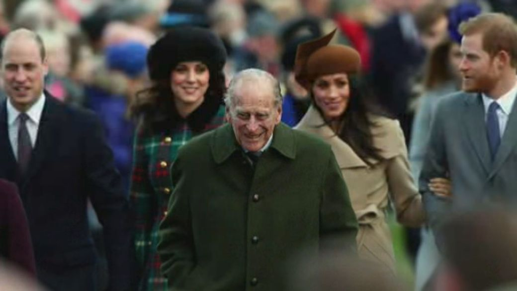 Click to play video 'Prince Philip transfers hospitals for tests, more treatment'