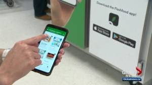 Flashfood app helps save money on groceries and reduce food waste